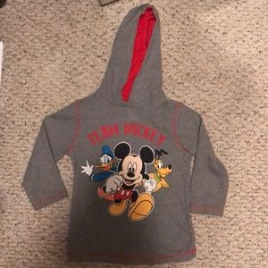 Boys Mickey Mouse clubhouse thermal hoodie 4T